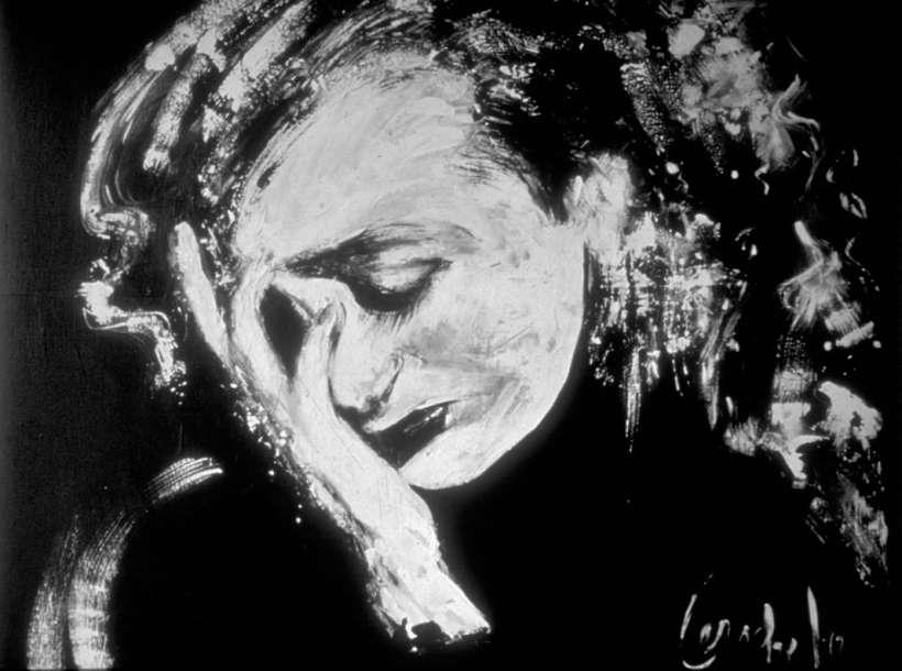 """Désespoir, Acrylique, 24"""" x 24"""" (60 x 60 cm), 1992"""