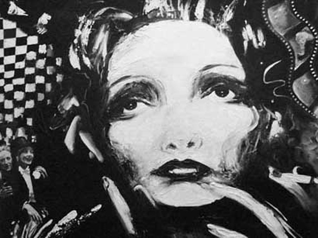 "Dietrich, Technique mixte, 24"" x 24"" (60 x 60 cm), 1992"